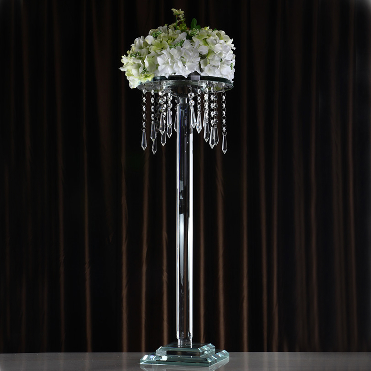 cheap table decoration crystal wedding chandelier centerpiece