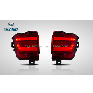 VLAND top quality new arrive bumper light for Land Cruiser 2016 rear bumper lights