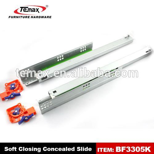 Shanghai Temax BF3305K install soft close drawer slides for wardrobe door