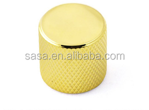 View larger image golden anodized aluminum metal custom guitar knobs Share to: Add to My Favorites golden anodized aluminum