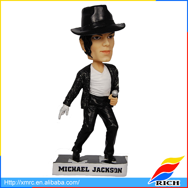 Top pop singer Michael Jackson figurine collectible bobbleheads