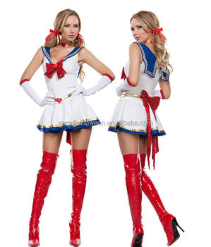 sailor moon costume cosplay fancy dress sailormoon outfit gloves halloween costume agc4203