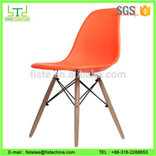 Hot Sale Machine kinds of modern plastic chair with castors