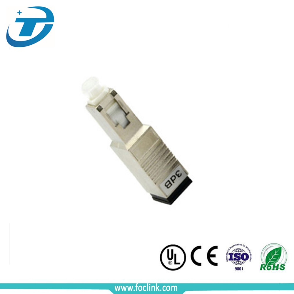 SC / UPC Singlemode Male - Female Fixed Fiber Optic Attenuator