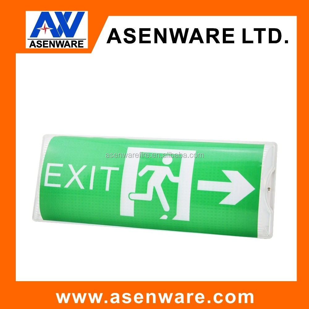 New products Emergency lead acid battery exit sign light