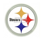 Discount Custom Steelers Embroidered Logo Patch