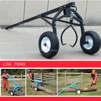 long tongs/ log arch/ log trolley for log transport