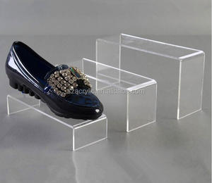 wholesale acrylic shoe display rack