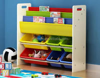 china factory curtain toy organizer children toy storage solution wooden toy chest kids storage unit