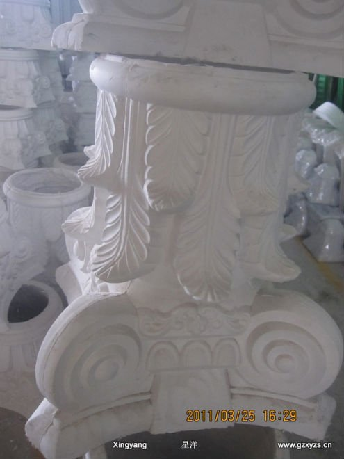 Column Head Mould--used For Making Gypsum Column Heads - Buy Roman Pillar  Head Mould / Roman Pillar Heel Mould,Gypsum Column Mold / Plaster Column