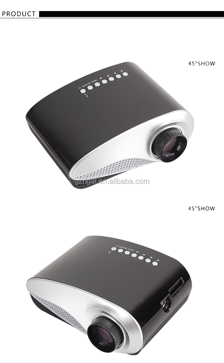 2015 Hot Sale Home Cinema Portable Mini LED Projector Best Gift Choice for Your Family and Friends