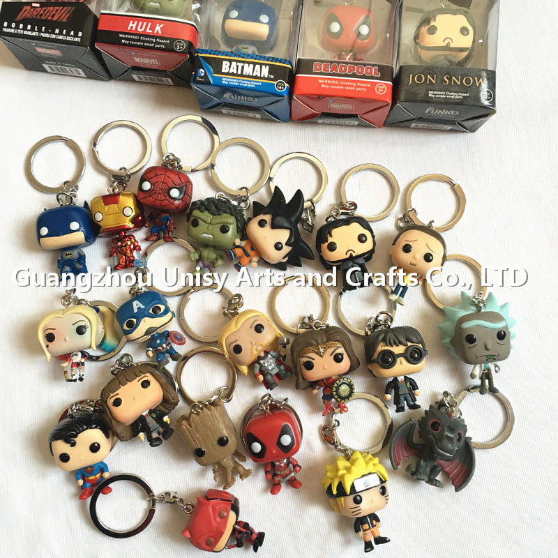 New Arrivals game of thrones Funko Pop Key chain Wholesale Funko Pocket POP Anime Figure Keychain