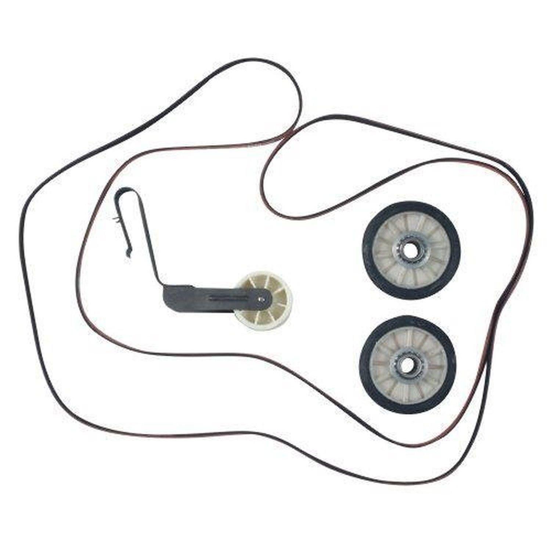 Whirlpool 4392065 Dryer Maintenance Belt Pulley Roller Repair Kit, Maytag