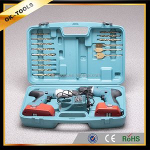 2014 new modern rechargeable electrical tool cordless drill set hangzhou alibaba china