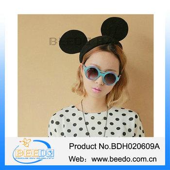 Venta caliente divertido sombrero del payaso sombreros locos para los niños  con el oído del ratón 172377a4149