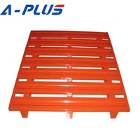 Customized Powder Coated Stackable EPAL Stainless Metal Steel Pallet for Cold Storage