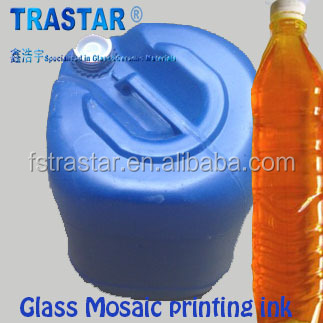 High quality glass mosaic tile printing oil ink for glass mosaic production from Trastar