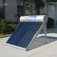 Low Pressure Vacuum Tube Water Trough 150L Heating System Solar Heater