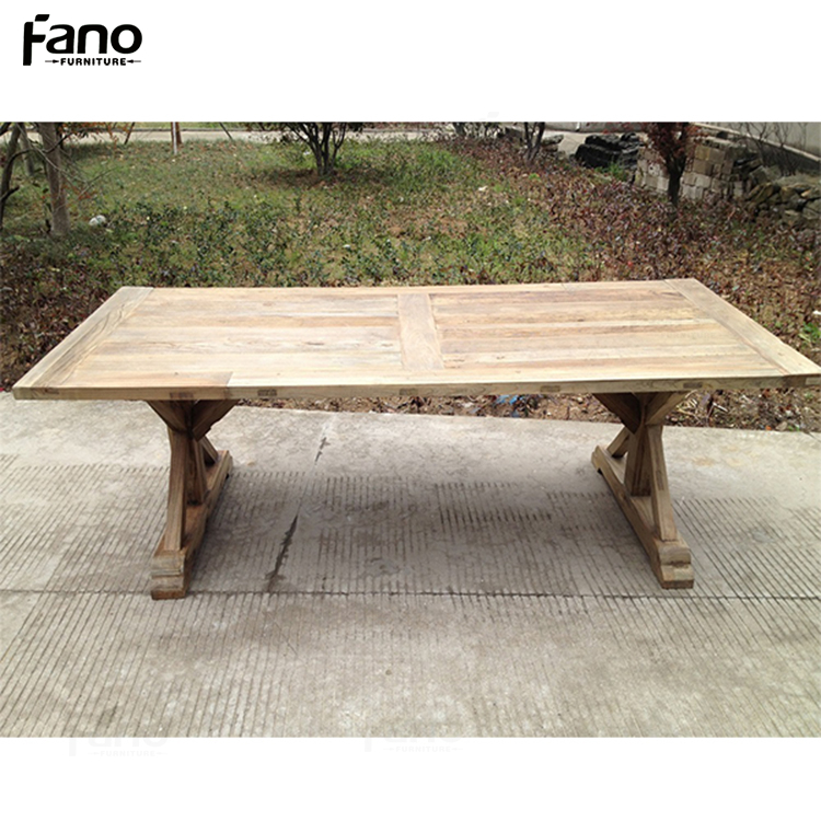 best price large 10 person reclaimed elm dining table