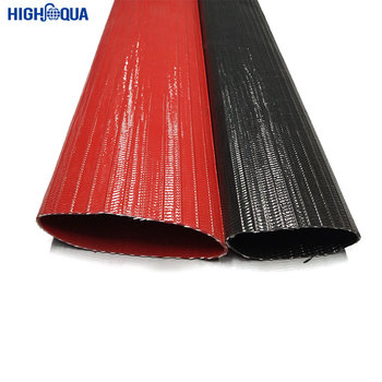 Durable long-lasting reinforced rubber layflat hose