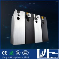 2015 new security products low price can give an alarm metal portable car safe box