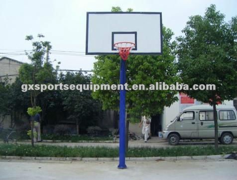Fiberglass In-ground Basketball Stand/hoops