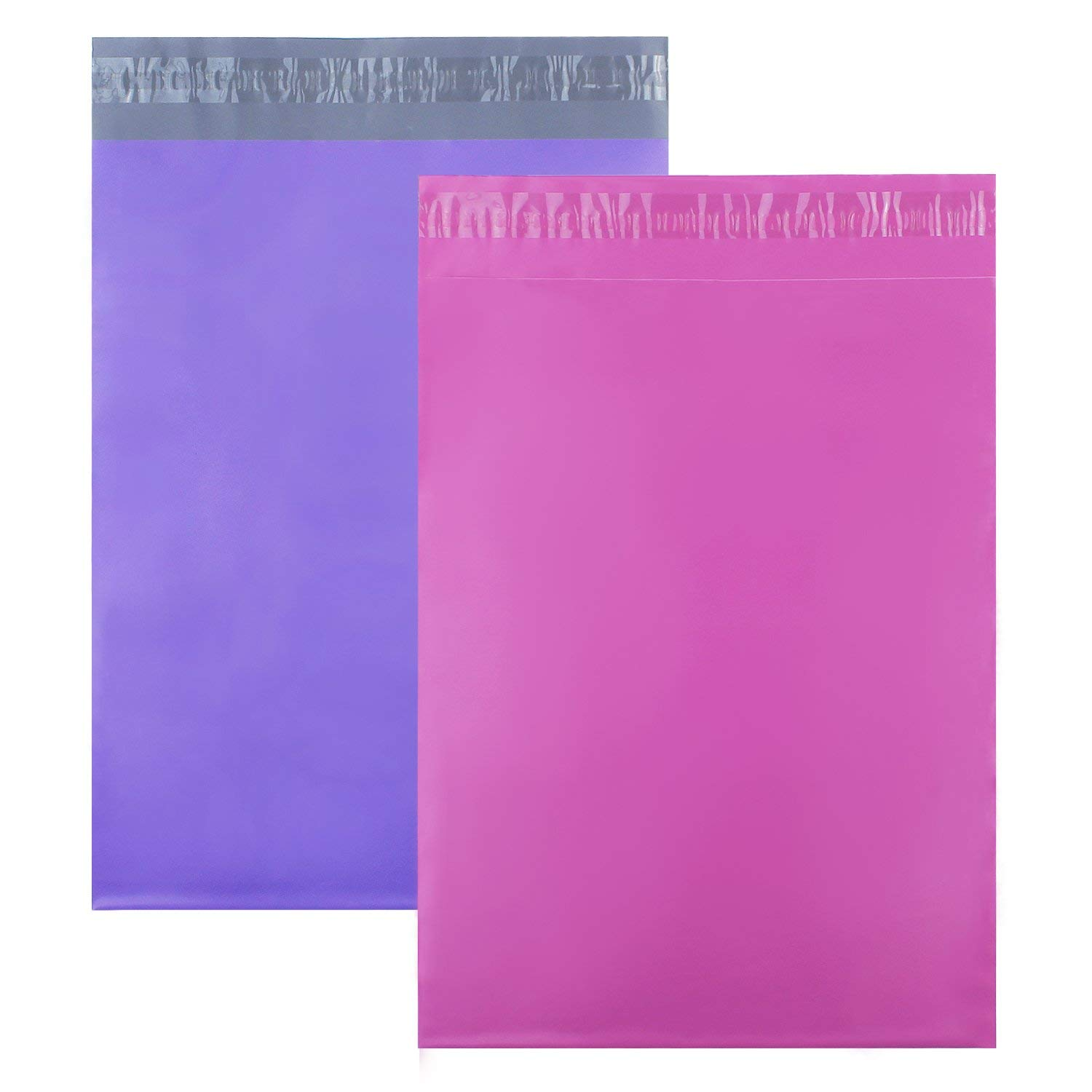 """YGEOMER 100pcs Poly Mailers Shipping(Pink and Purple) Envelopes Shipping Bags Custom Mailers(10""""x13"""")"""