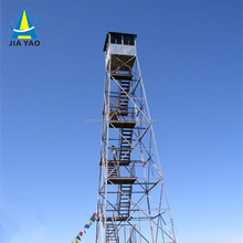 Hot dipped galvanized steel DP payment 45 meter guard tower for small companies