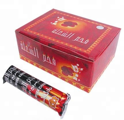 HQRM35120 a grade pure fruit wood round shisha charcoal for church incense