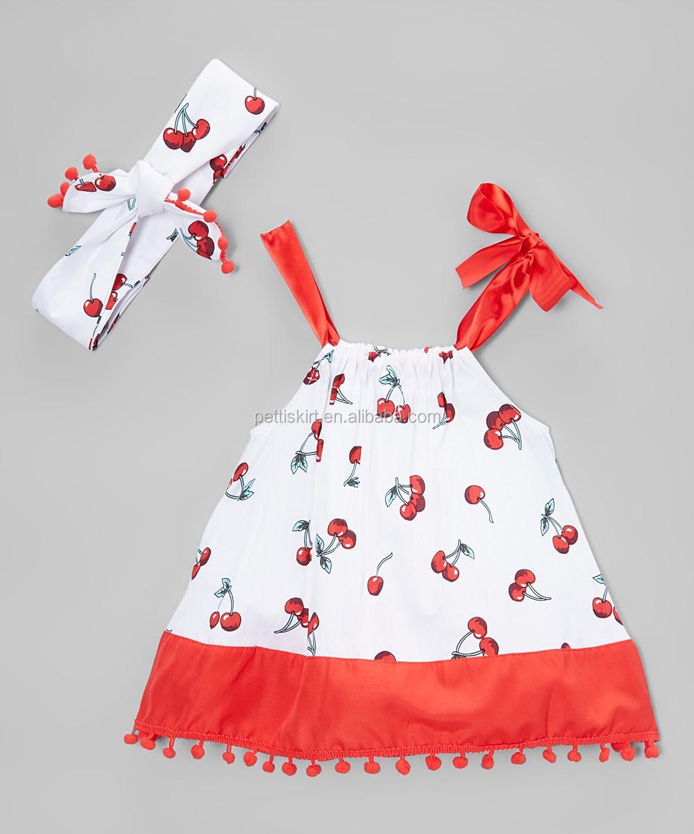 Multicolor Smocked Dress Design Girls Plain Cotton Dress Summer ...