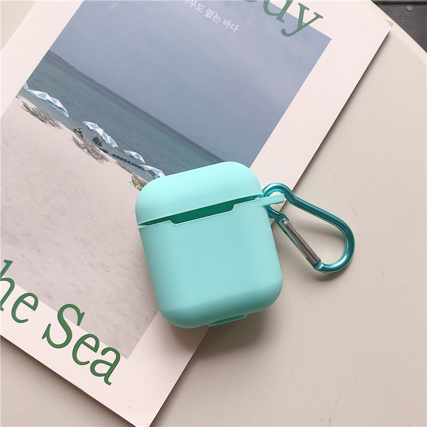 Shockproof Amazon Promotion Silicone Case Cover For Airpod,For Airpod Cute Earphone Carrying
