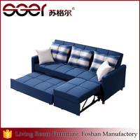 Home use high end bedroom sofa bed combination foshan furniture