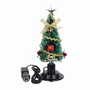 Car Christmas Tree.2018 New Car Decoration Mini 12v Christmas Tree With Sucker
