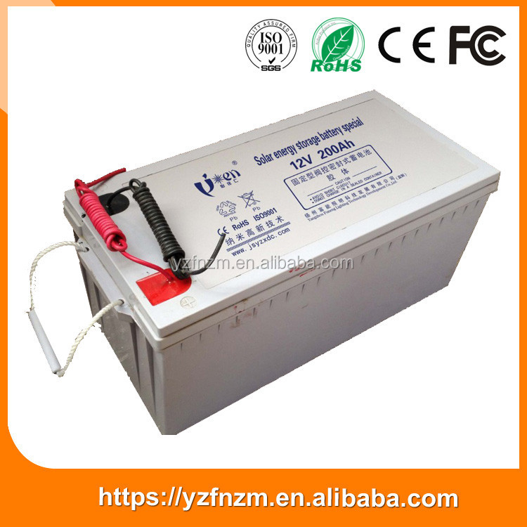 Durable Heat resistance 200ah stroage battery suppliers China