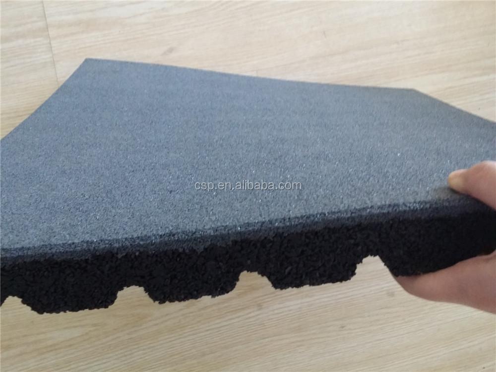 Fußbodenbelag Dicke ~ 40 50mm hohe dicke verwendet sportplatz bodenbelag gummi