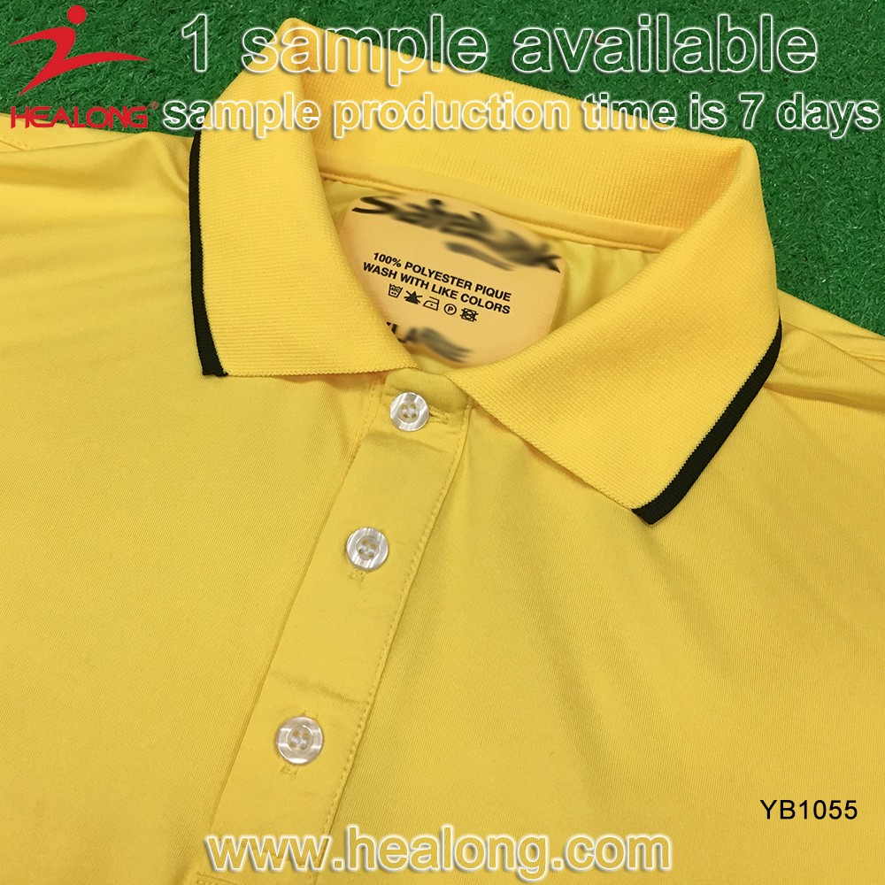 T-shirt design quick - Healong Oem Customized Latest Design Quick Dry Breathable Dye Sublimated Polo T Shirt Sublimation Polo
