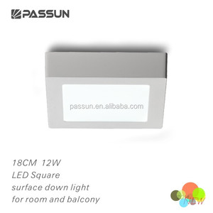 square ceiling light led down light led surface down light for balcony