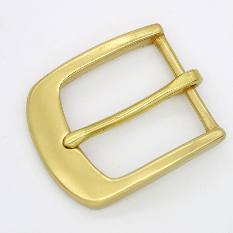 40mm inner size high quality solid brass pin <strong>buckle</strong>