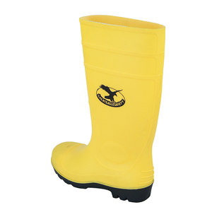 1cf0c6d46135 hot selling safety pvc yellow working gumboots garden water boots