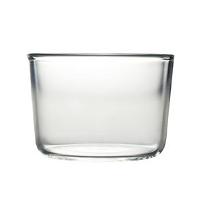 Modern style cake milk water glass juice yoghourt pudding glass cup