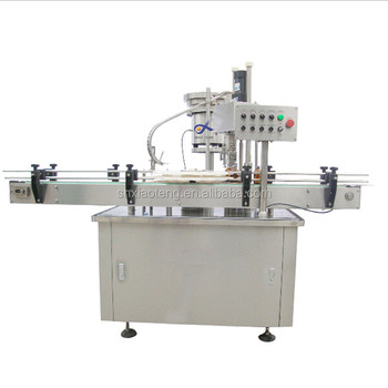 manufacturer sale automatic bottle screw capping machine with video