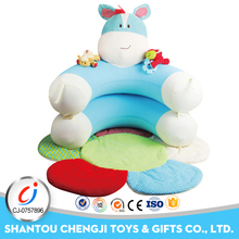 New products 2017 cheap baby lazy inflatable kid sofa