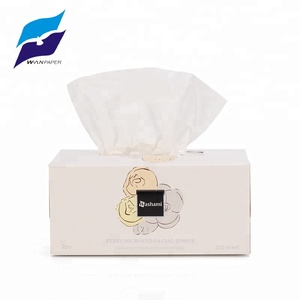 Top grade box pack custom weight soft facial tissue for sale