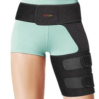 Adjustable Custom Neoprene Hip Stabilizer and Groin Support Leg Thigh Compression Sleeve