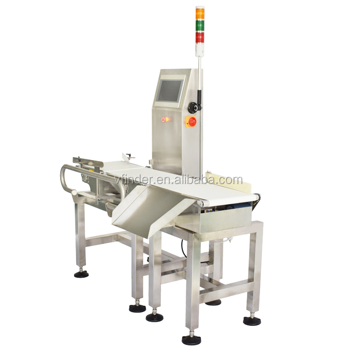 Hot sale check weigher weight sorter.in motion checkweigher