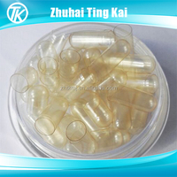 Top sale HPMC clear separated veg capsules size 0