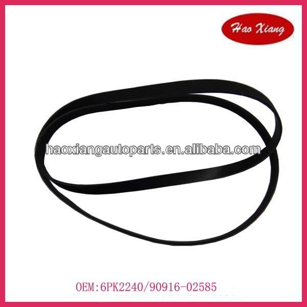 90916-02585/6pk2240 Auto Fan & Aleternator Belt
