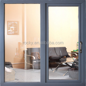 Home aluminium commercial sliding window/ double glazed windows and door comply with Australian