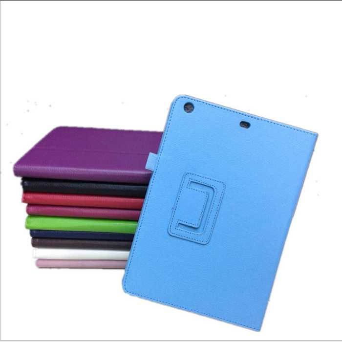50pcs/lot Folio Folding Stand Slim PU Leather Case Smart Cover For iPad Air iPad 5