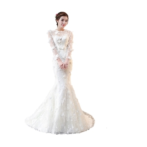 wholesale princess real wedding dress China